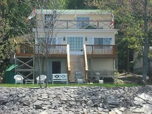 3 Bedroom Waterfront Cottage 30 minutes from Fredericton.