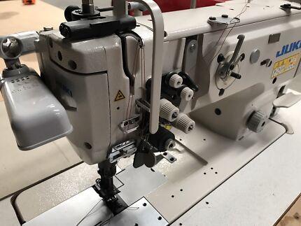 Juki LU-1565N 2 needle walking foot split bar sewing machine Coolaroo Hume Area Preview