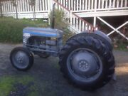1951 TEA20 Massey Ferguson Tractor Lobethal Adelaide Hills Preview
