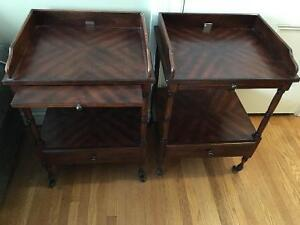1 wooden accent table