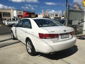 2007 Hyundai Sonata NF SLX White 5 Speed Automatic Sedan
