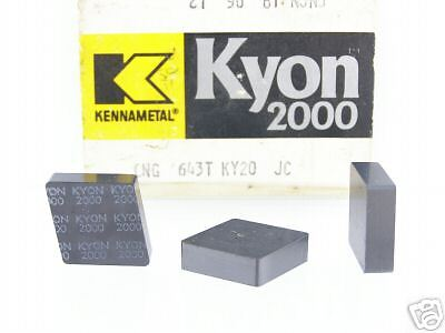 46 KENNAMETAL CNG 643 T KY2000 CERAMIC INSERTS P207S
