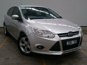 2013 Ford Focus LW MKII Trend PwrShift Silver 6 Speed Sports Automatic Dual Clutch Hatchback