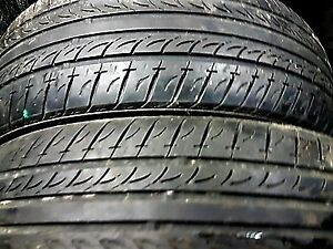 EN-FR: 2x Tires Nexen N5000 205 65 15 80% good, Quality tires