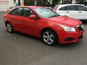 2011 Holden Cruze JH CD Red 6 Speed Automatic Sedan West Croydon Charles Sturt Area Preview