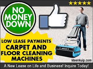 NEW Carpet and Floor Cleaning Equipment ** NO MONEY DOWN! **
