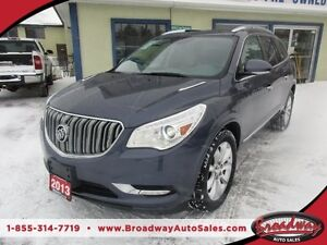 2013 Buick Enclave LOADED CXL EDITION 7 PASSENGER 3.6L - V6.. AW
