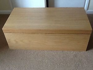 IKEA Malm Storage/ Blanket Box - birch finish
