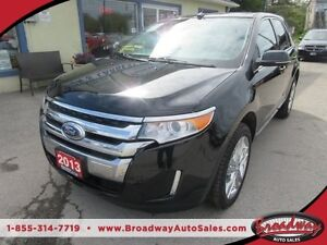 2013 Ford Edge LOADED LIMITED EDITION 5 PASSENGER 3.5L - V6.. AW