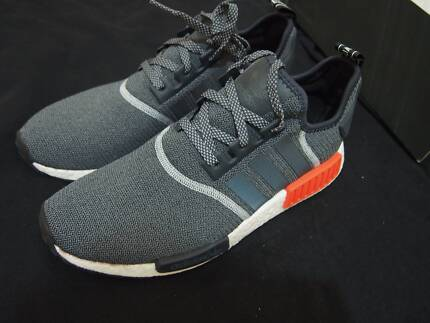 Adidas NMD R1 - Grey/Red Reflective Collection - Mens US11