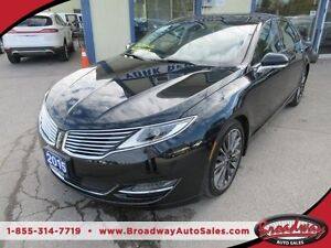 2015 Lincoln MKZ LOADED ALL WHEEL DRIVE 5 PASSENGER 3.7L - V6 EN