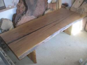 Tallowwood hardwood timber slab dining table - NEW 2.6 x 1 mtr Panania Bankstown Area Preview