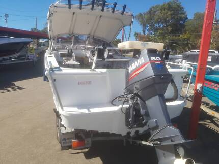 Stacer 475 Baymaster Runabout w/ 60hp Yamaha