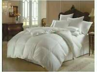 BRAND NEW WHITE 'DUCK' FEATHER AND DOWN DUVET