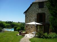 Beautiful character villa with pool in sunny Southwest France