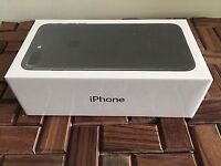 BRAND NEW SEALED Apple Iphone 7 32gb MATTE BLACK ON VODAFONE WITH 12 MONTHS