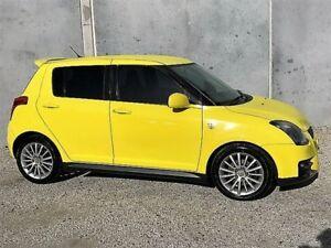 2006 Suzuki Swift EZ Sport Yellow 5 Speed Manual Hatchback
