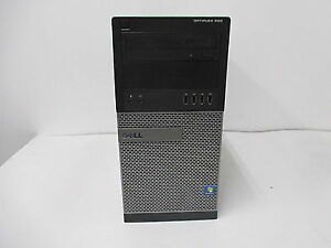 Dell tower with Intel Core i5 Quad Core CPU 500GB HD