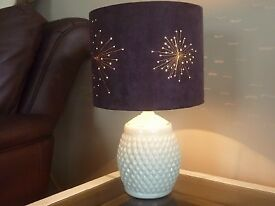 belleek china table lamp
