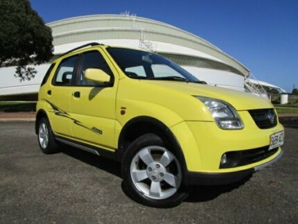2005 Holden Cruze YG Yellow 5 Speed Manual Wagon