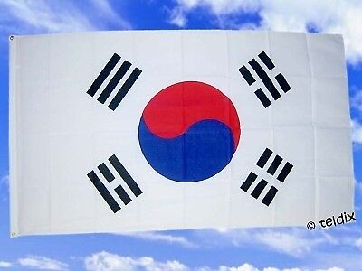 Fahne Flaggen SÜD KOREA SÜDKOREA 150x90cm TDShop24