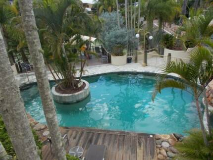 7, 14 or 21 nights Noosa 2 bedroom apartment in resort