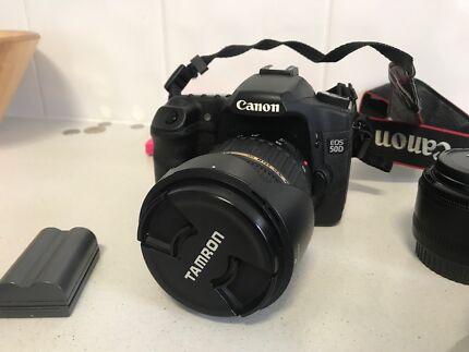 Canon 50d SLR great starter package (quality lenses)