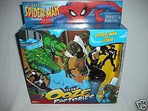 SPIDER-MAN OSCORP OOZE FACTORY SET - SPIDER-MAN VS. LIZARD