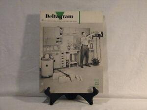 Deltagram Vintage Magazine - March-April 1958 Peterborough Peterborough Area image 1