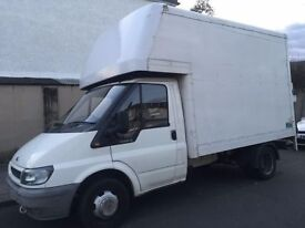 MAN and VAN / TAIL LIFT LUTON VAN- High quality and affordable removals service.