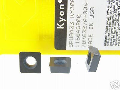 110 KENNAMETAL SPUA 433 KY3000 CERAMIC INSERTS O354S
