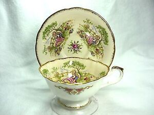 Paragon Bone China cup & saucer -  Gainsborough pattern LOVELY
