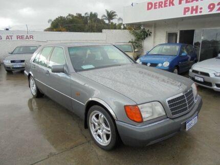 1992 Mercedes-Benz 300SEL W126 Grey 4 Speed Automatic Sedan