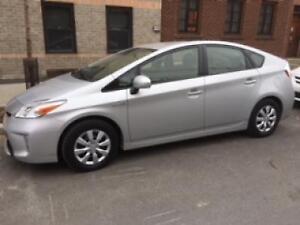 Transfert de bail pour Toyota Prius 2015