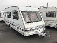 (13) 1999 SWIFT CHALLENGER 520 SE SINGLE AXLE 4 BERTH TOURING CARAVAN
