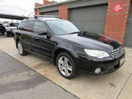 2008 Subaru Outback MY08 2.5I Luxury Edition Black 4 Speed Auto Elec Sportshift Wagon