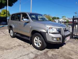 03 Toyota LandCruiser Prado AUTO GXL KZJ120R turbo diesel $14,999 Highgate Hill Brisbane South West Preview