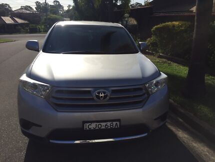 Toyota Kluger 7 seats