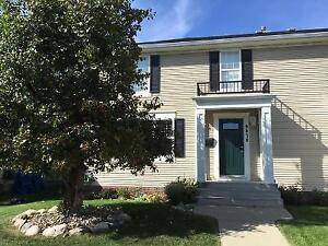 5 Bedroom House Rental Half Duplex Griesbach -Available Oct.1st