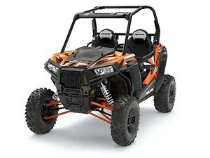 2017 Polaris RZR S 1000 EPS Spectra Orange Only $20,499