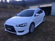2011 Mitsubishi Lancer VRX South Bowenfels Lithgow Area Preview