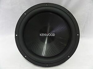 "KENWOOD 12"" 4 OHM 1200W SUBWOOFER FOR CAR"