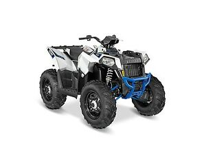 2016 Polaris Scrambler 850 White Lightning