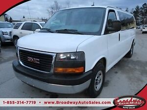 2015 GMC Savana 1-TON PEOPLE MOVING LT MODEL 15 PASSENGER 6.0L -
