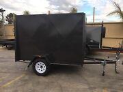 8 x 5 single axle van trailer, 5ft high, rear ramp 750GVM Swan Hill Swan Hill Area Preview