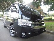 2014 Toyota Hiace 10 Seater LWB GL Low Roof Wide Body Black Automatic Wagon Concord Canada Bay Area Preview