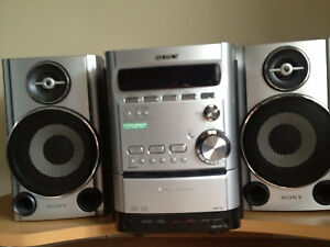 SONY 5-Disc CD Changer Stereo System
