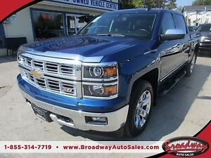 2015 Chevrolet Silverado 1500 LOADED LTZ MODEL 5 PASSENGER 5.3L
