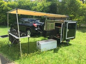 Food Trailer For Sale - Mobile Solar Powered Kitchen Trailer. Cooks Hill Newcastle Area Preview