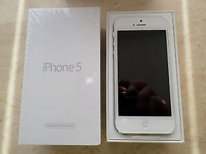 NEW SILVER IPHONE 5